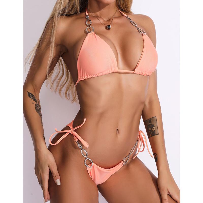 연예인 저녁 파티 붕대 바디 슈트 bodycon 2020 새로운 여성 퍼플 오렌지 섹시한 바디 슈트 해변 비키니