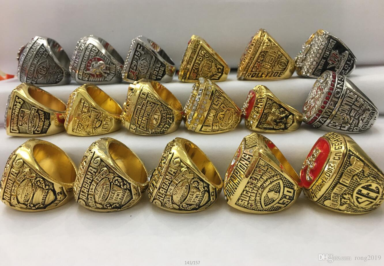 17 Pcs  Alabama Crimson Tide Championship Ring Gift!!!