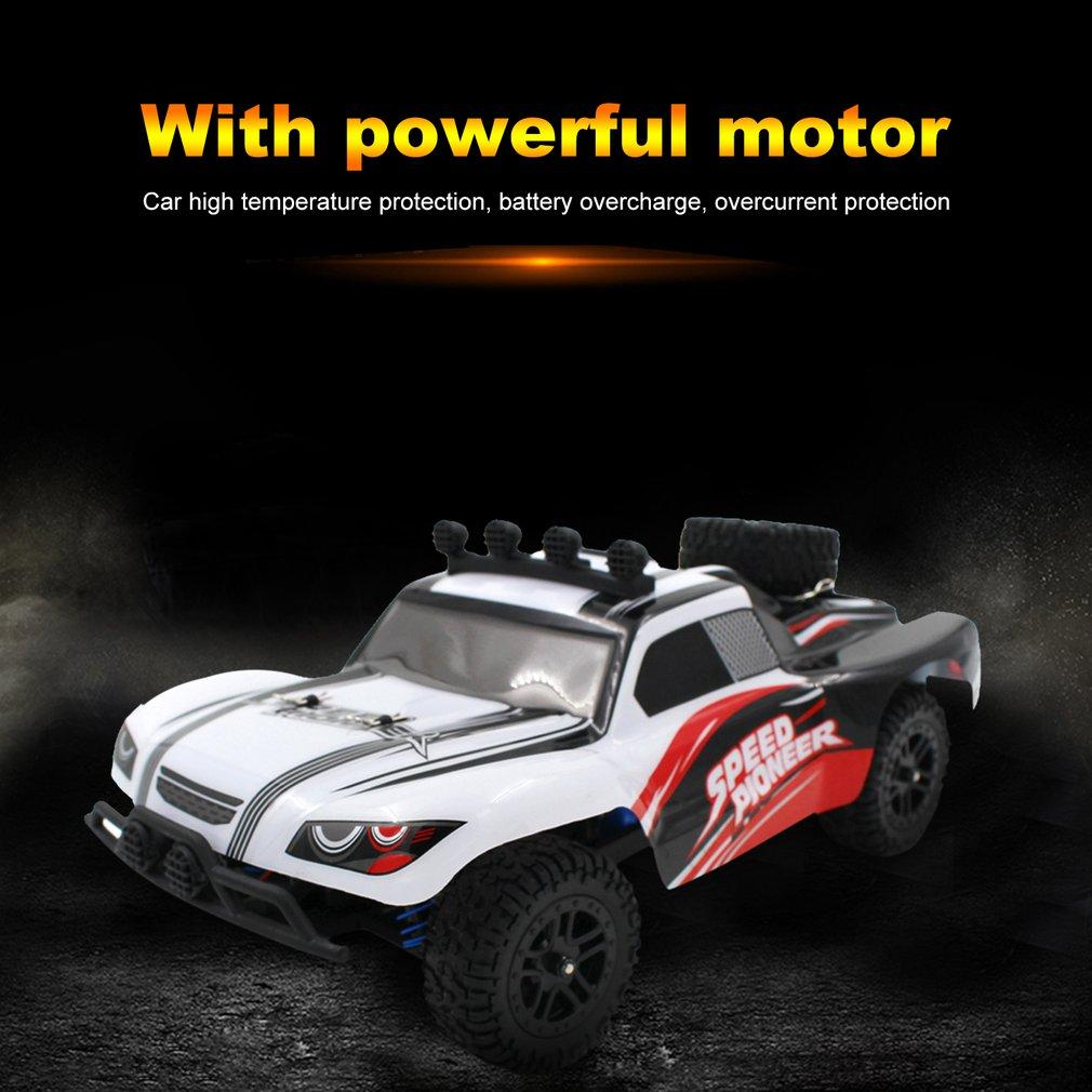 1:18 Scale 9301 Off-Road Crawler Vehicle Mountain Mouse Short Truck Model Toy Brushed Motor Four Wheel Climber Toy