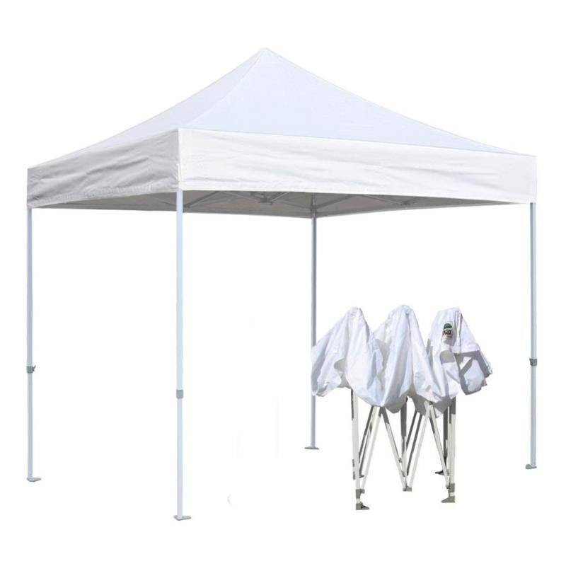 GRNTAMN White Folding Tent Portable Instant Canopy Event Commercial Party Wedding Tent