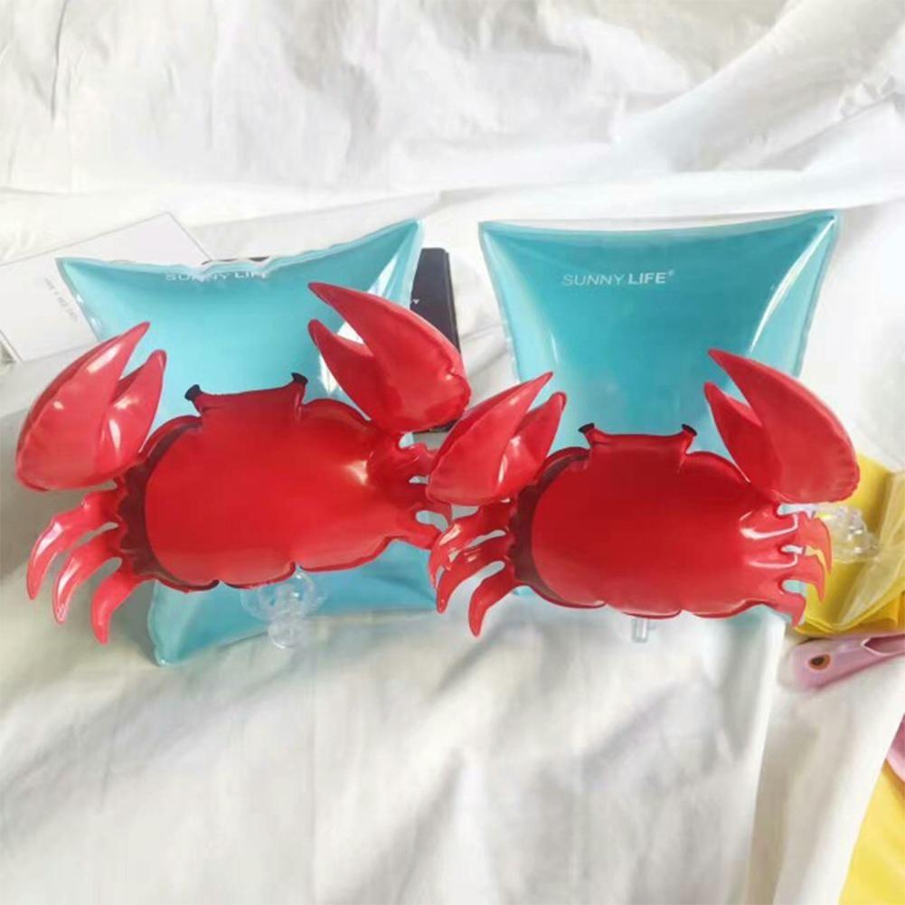 Mounchain Schwimmhilfs Flamingo Crabs Inflatable Arm Schwimmer Dual-Airbag-Schwimmen-Schwimm Sleeves Schwimmen Lernen