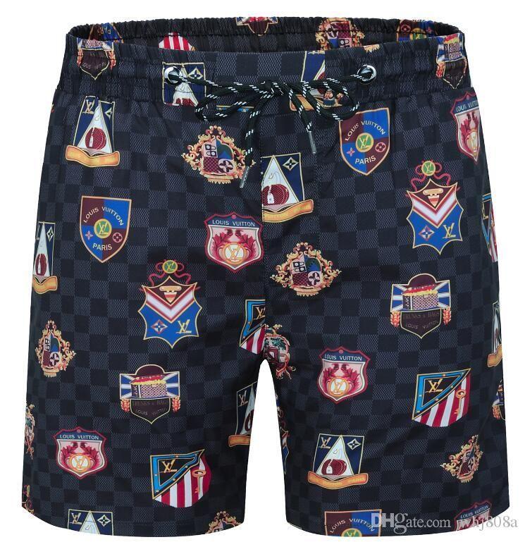 Consiglio di moda calda design Mens Shorts Summer Beach Shorts Sport stile di svago Beach Surf Nuoto Shorts qualità PantsKZ112 alta