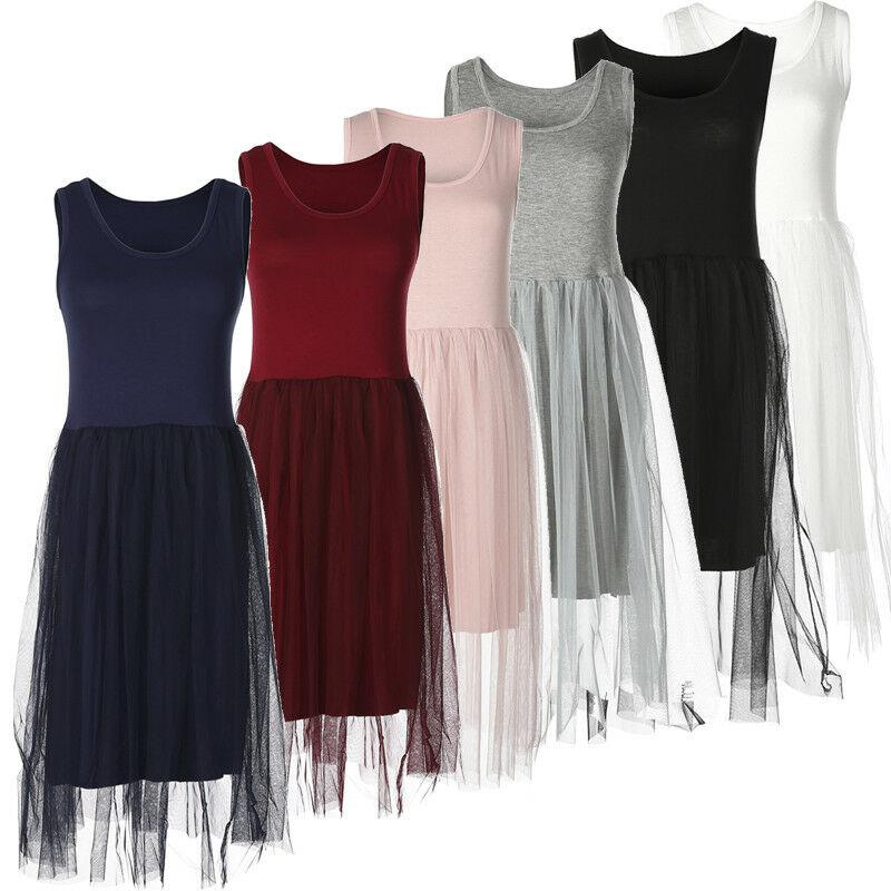 2019 Yeni Stil Moda Sıcak Kadınlar Elbise Casual Patchwork Parti Uzun Elbise Kolsuz Dantel Sundress
