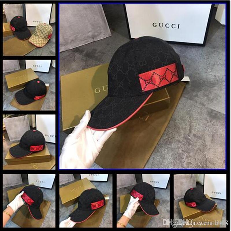 designer de luxe Cap Snapback Baseball Caps Loisirs Réglable Snapbacks Chapeaux Casquette golf en plein air sports papa chapeau Top Sale