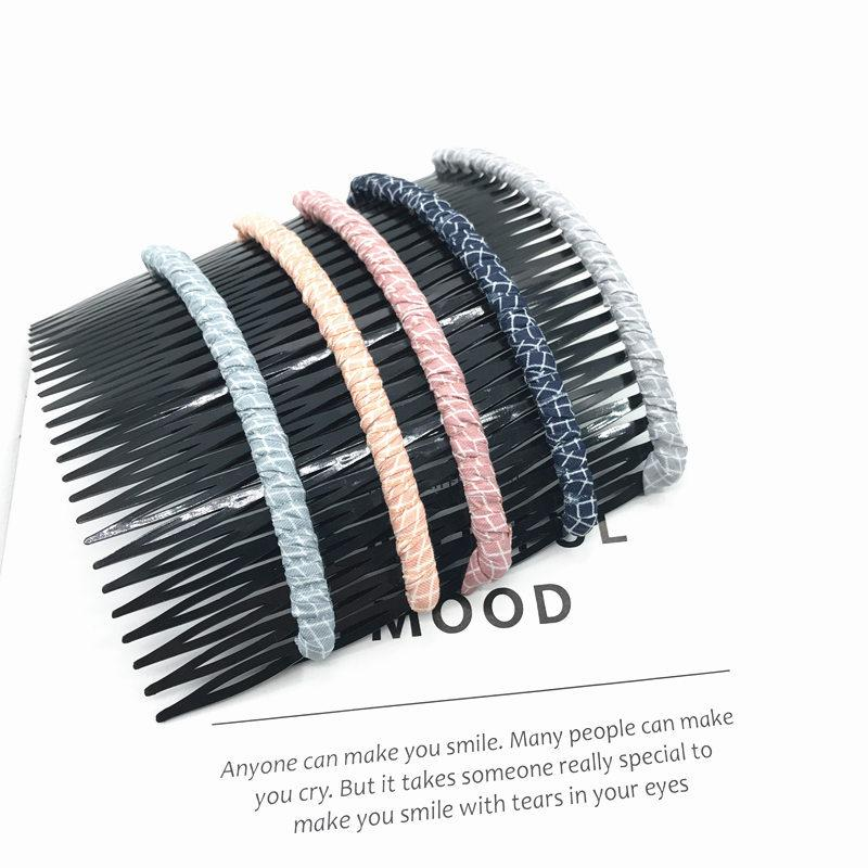 Korean style fashon trendy hair comb top selling new arrival wholesale custom comb straightener hair straightener comb