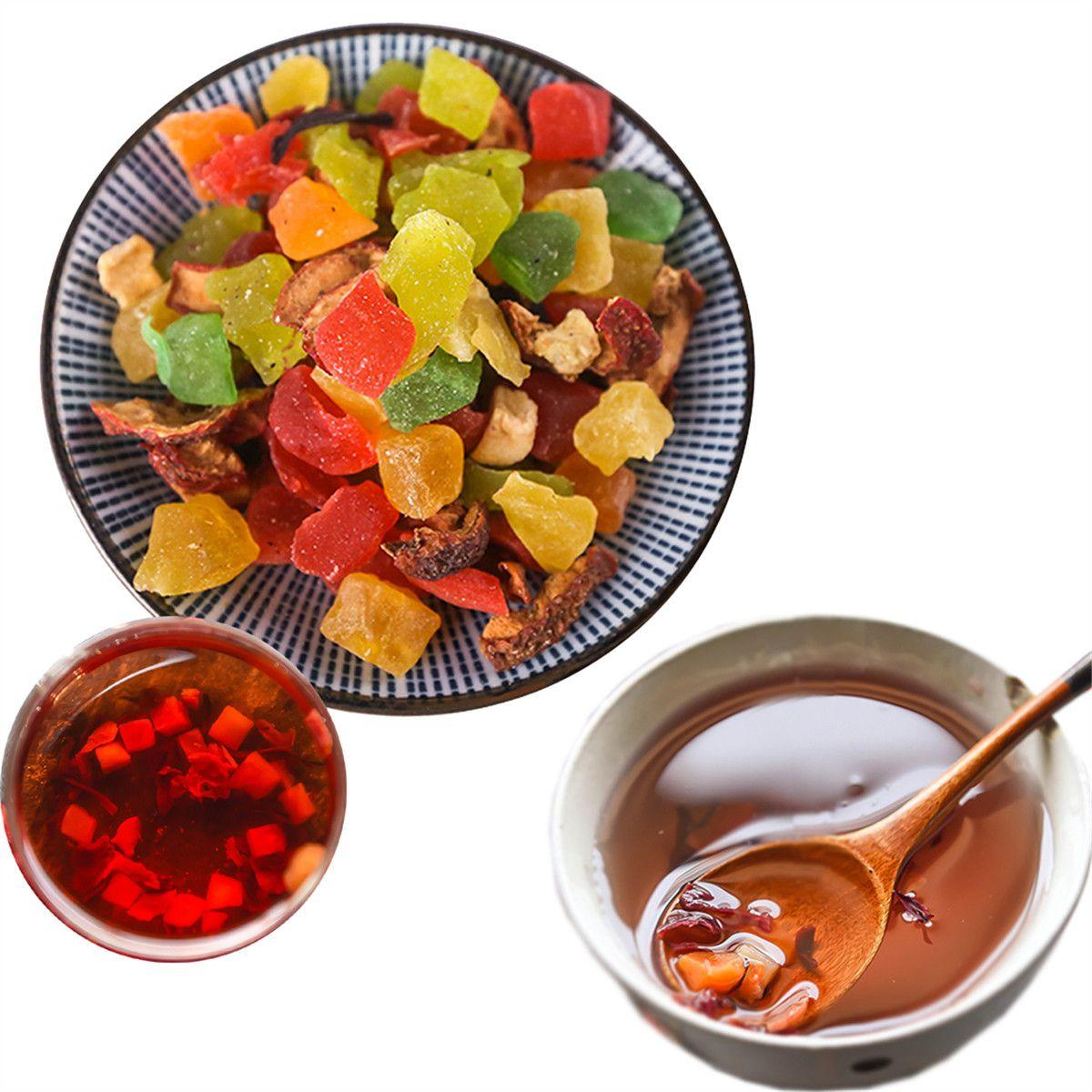 Roselle Flower Mixed Fruit Grain Tea Dry Fresh Handmade Luoshen Flower Новый Ароматизированный Чай Здоровая Зеленая Пища Оптом