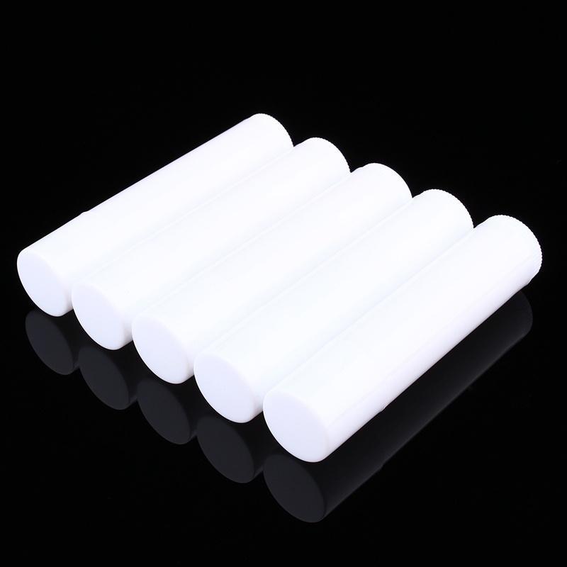 100PCS cosmetici fai da te Svuotare Chapstick Lip Gloss Rossetto balsamo del tubo con tappi Container Lip MF