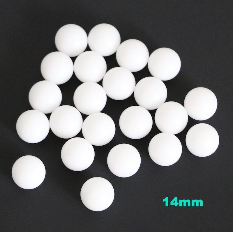 14mm Delrin (POM) / Celcon Plastic Solid Balls für Ventilkomponenten, Low Load-Lager, Gas- / Wasseranwendung