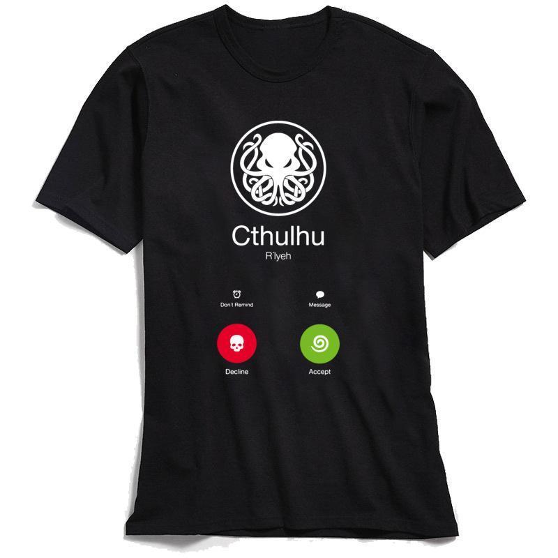 Erkekler Pamuk Tişört Komik Yaz Geek için Marka T -Shirt Yenilikçi Tasarımcı Tişörtlü Swag Steampunk Ahtapot Tees XSbedeni-3XL Tops