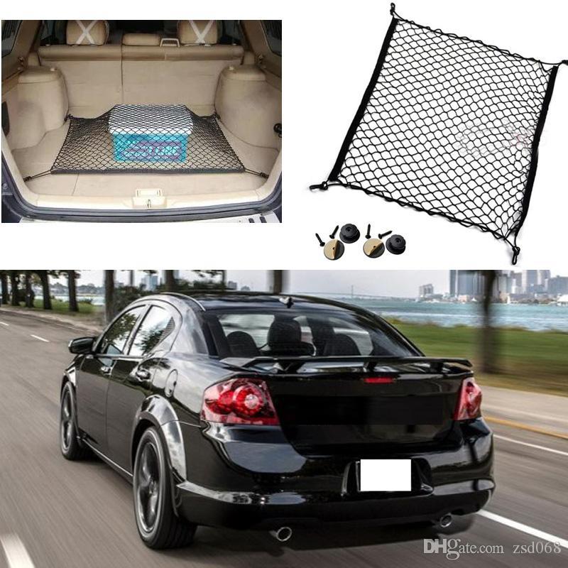 Organizer da bagagliaio universale auto elastico di nylon per SUV