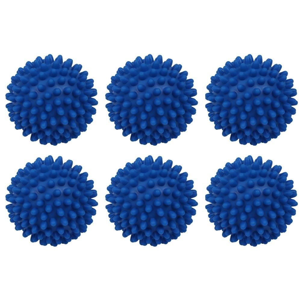 Laundry Balls & Discs 6 pcs Washing Ball Dryer Balls Perfect Keeping Laundry Soft Fresh Washing Drying Fabric Softener Hot Sale