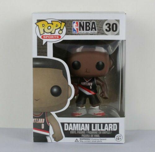 FUNKO POP Estrella de baloncesto DAMIAN LILLARD Figura de acción Modelo coleccionable muñeca de juguete para regalo de niños