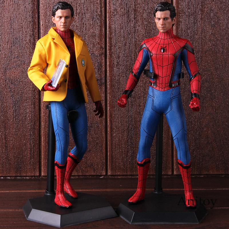 CRAZY TOYS SPIDER MAN HOMECOMING DELUXE VERSION COLLECTIBLE FIGURE STATUE 1//6TH