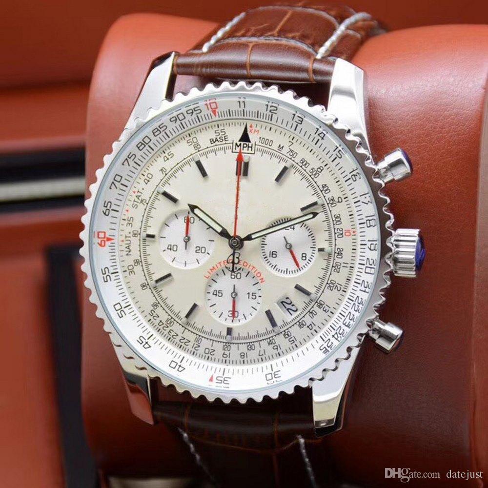 Классические мужские часы изготовлены из тонкого стального материала и имеют встроенный механизм Shi Ying. Она точна и стабилизирована. Большой дизайн циферблата