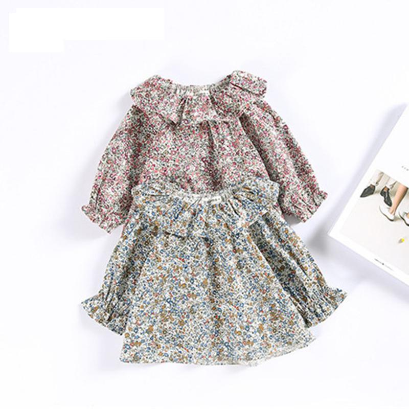 Delle ragazze del bambino Pullover bambini Tee Shirt 2018 Marca Primavera Estate Bambini camicetta per le ragazze vestiti del fiore della stampa Outwear Stuff