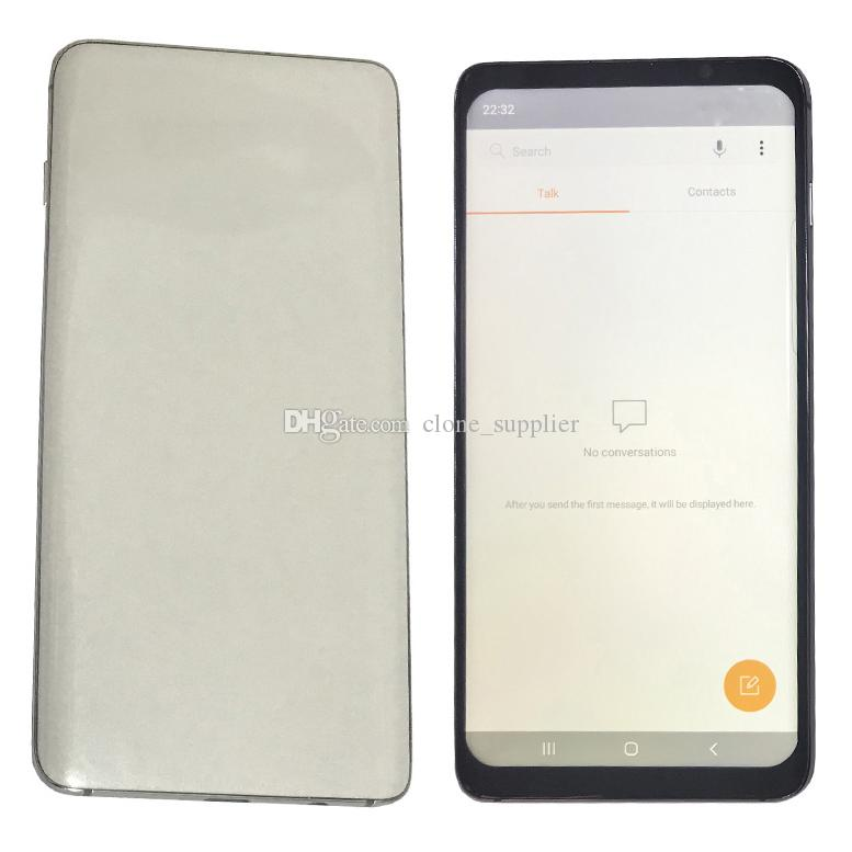 10 plus Goophone 10Plus 6.5 Inch 10 plus Goophone With Face ID WCDMA 3G Quad Core RAM 1GB ROM 16GB Android 9.0 camera 8.0MP Show 8GB 512GB