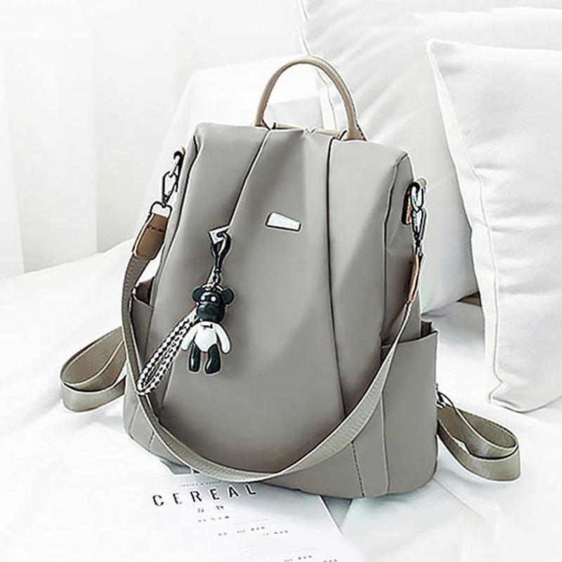 Large capacity school backpack women bags 2020 solid waterproof Oxford travel bags women backpacks mochila feminina bolsa