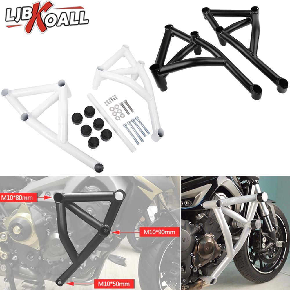 Moto Stunt Cage Garde Engine Barre crash protecteur pour couvrir MT FZ 09 Tracer MT09 MT09 FZ09 FZ09 2013 2014 2015 2016