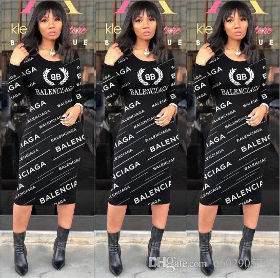 새 스타일 가을 패션 여성 캐주얼 긴 소매 섹시한 Bodycon 미디 드레스 따뜻한 파티 슬림 짧은 이브닝 드레스