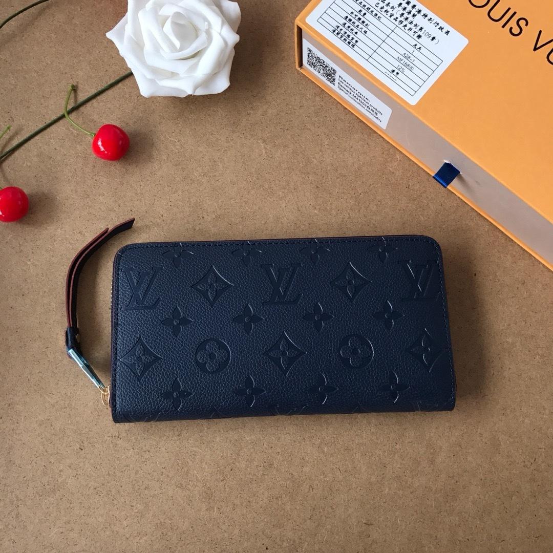 Portafogli in pelle Retro borsa cerniera moda carta di credito perfetta borsa modello 010.605