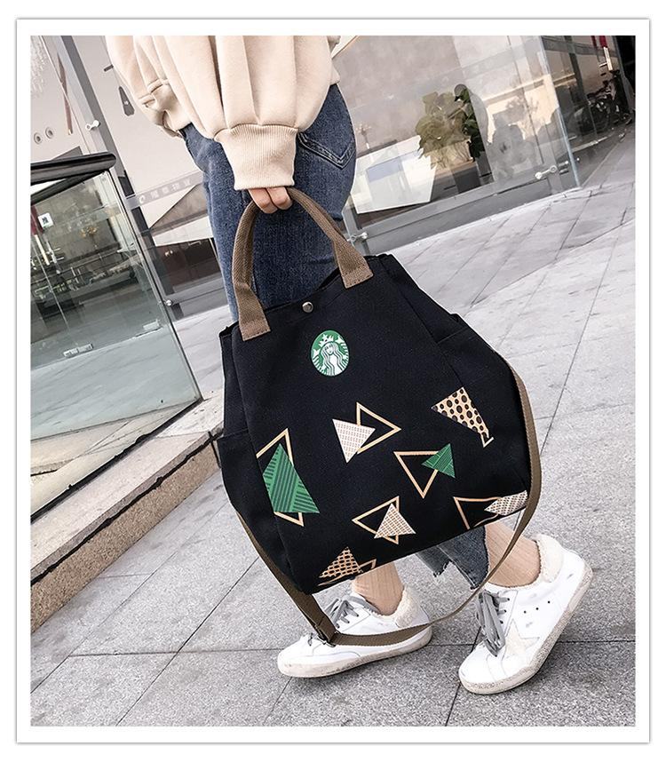 Mochila de estudiantes multi funcional de mujer con lienzo Diseñador de bolsos de lujo