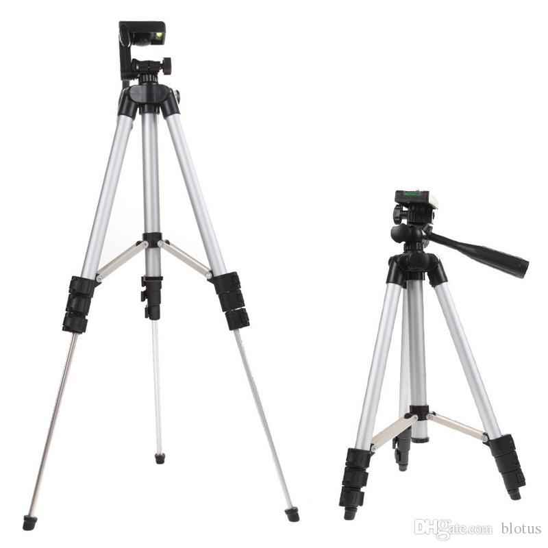 Video Stative Handy Stativ Universal Digitalkamera Montieren Camcorder Stativ Aluminiumlegierung Nachtfischen Licht Ständer Für Nikon Canon