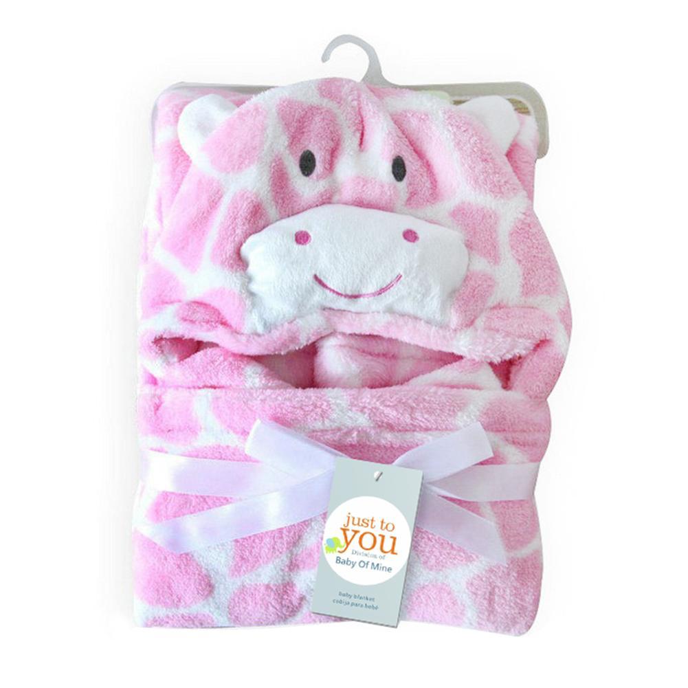 جميلة الصوف الطفل منشفة حمام لطيف شكل حيوان طفل رضيع مقنعين منشفة الحمام عباءة طفل تلقي بطانية عقد حديثي الولادة ليكون