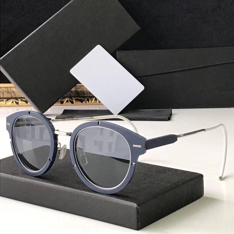 Großhandel-Sonnenbrille für Männer Frauen Sonnenbrille für Frauen Sonnenbrille Männer Markendesigner UV400 Objektiv Luxus Sonnenbrille MAGNITUDE01 mit Fall