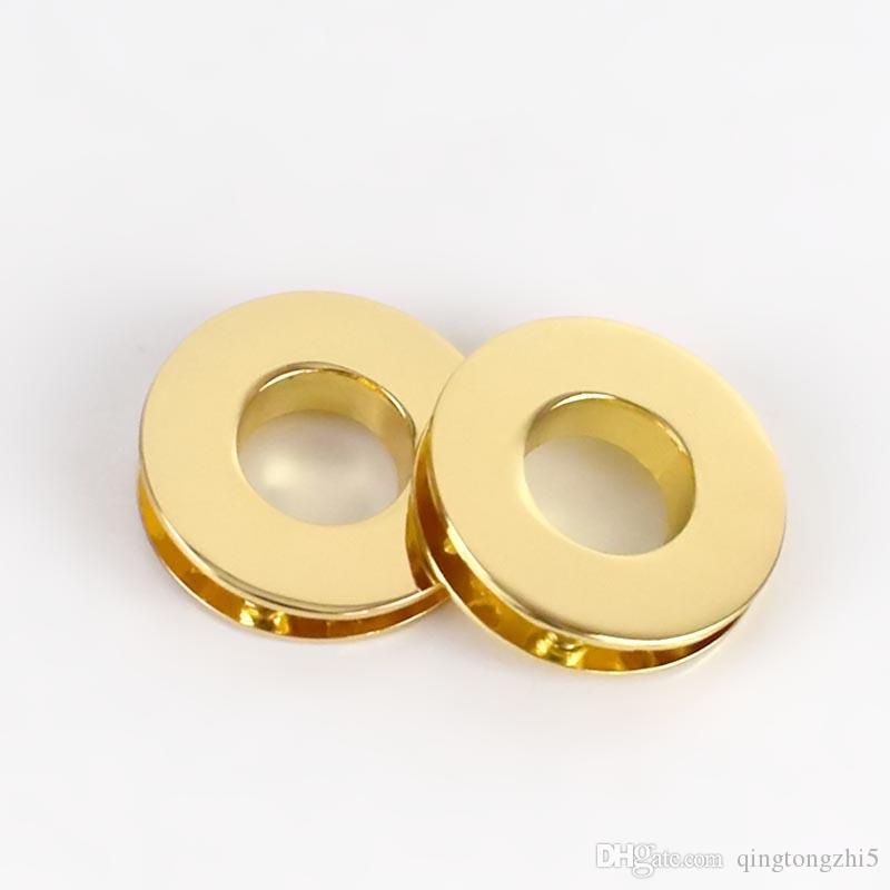 Meetee 11mm O Ring Rond Oeillets Vis Moulage Sous Pression Mode Sacs En Métal Boucles Trou Perforer DIY En Cuir Artisanat F3-9