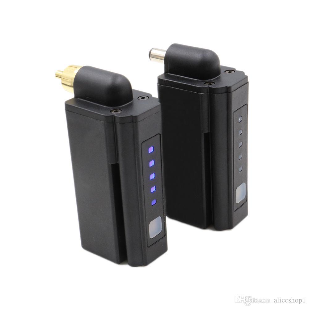 귀영 나팔 장비 무선 소형 전력 공급 1500 mA RCA DC 연결 유효한 문신 영구 메이크업 도구