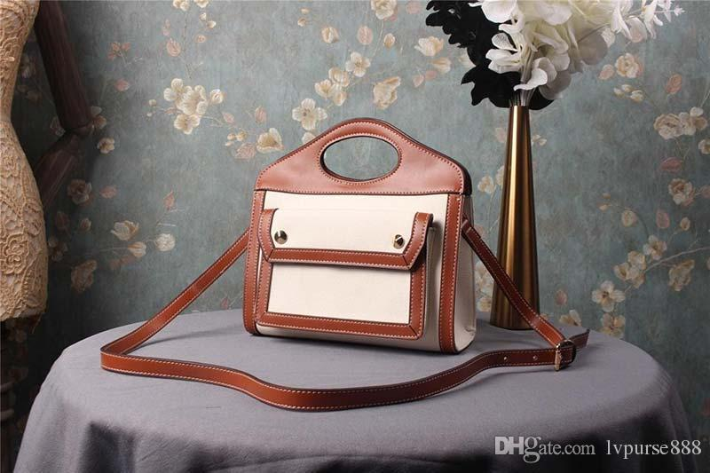 bolsos de diseño de lona bolsa de diseñador bolsos bolsas de bolsas de diseñador mujeres del bolso monedero de la manera de hombro material de Barbery