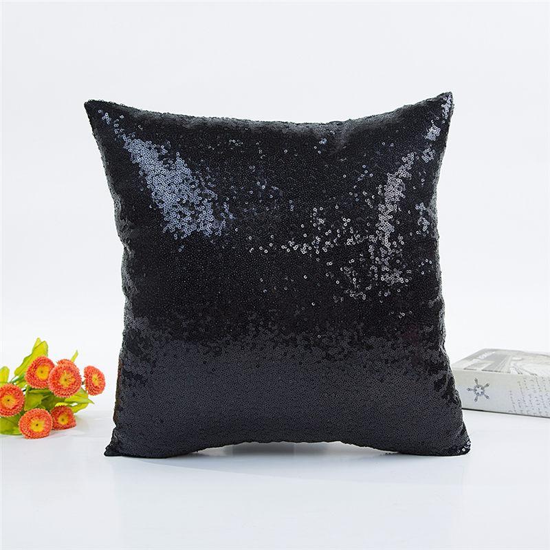 блестки подушка крышки случая русалка крышка подушка блестка обратимый диван магия двойные обратимые салфетки Чехлы