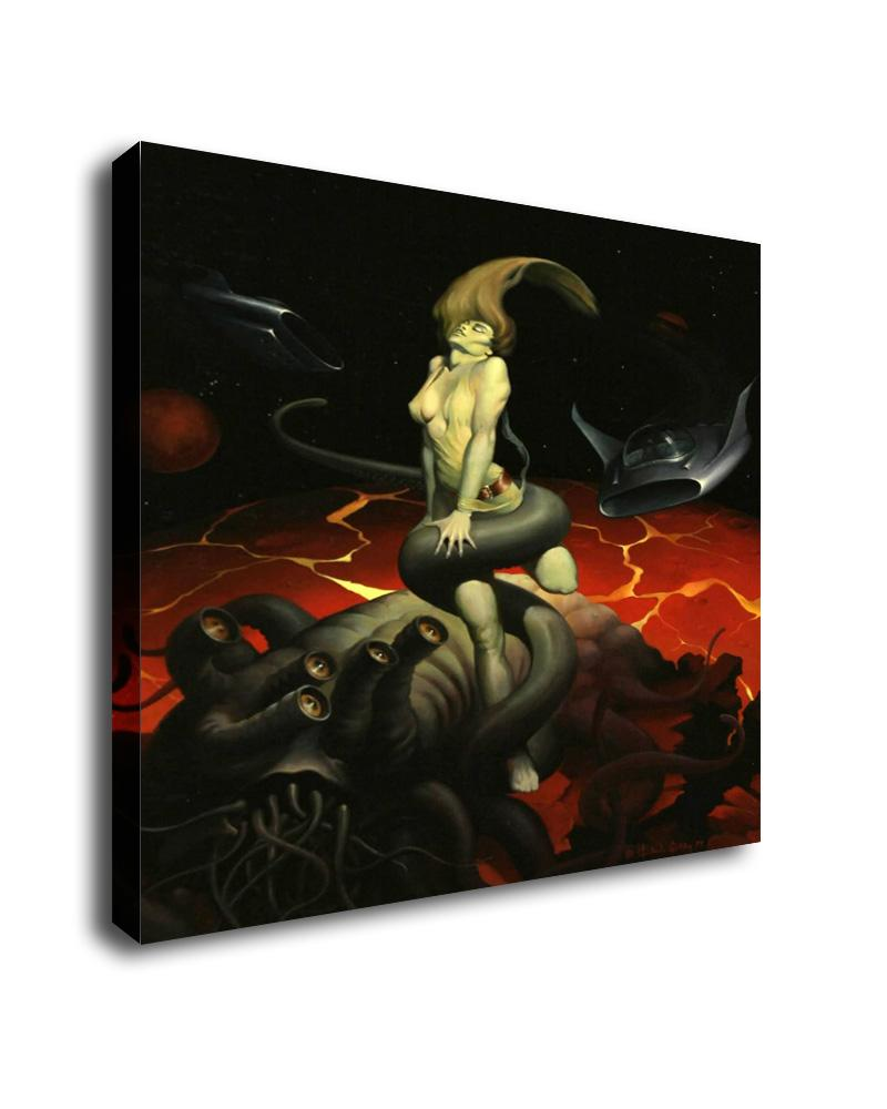 modern Home Art Decor Fantasy Mermaid Oil Painting Picture Printed On Canvas c3