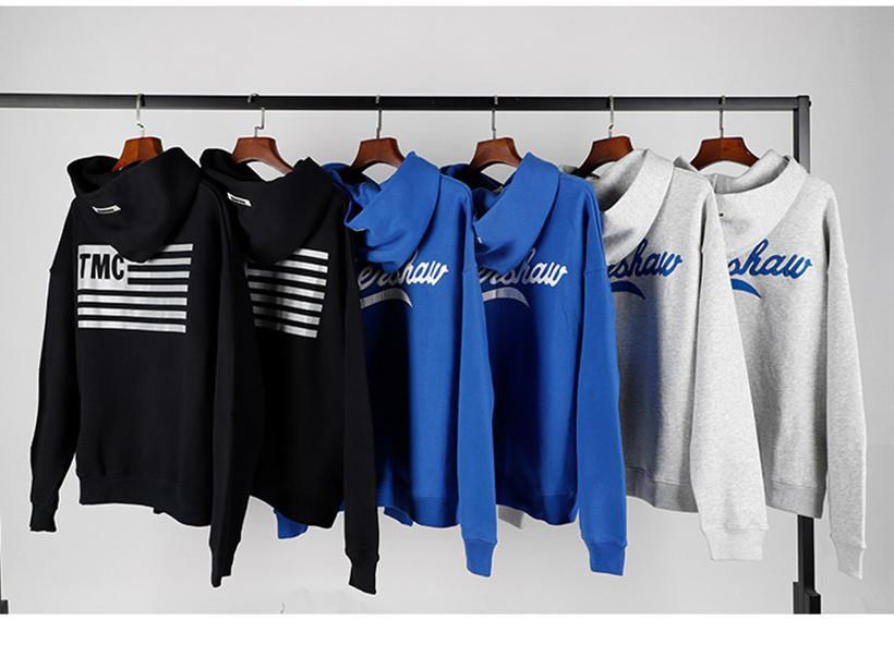 19FW Pullover Druck La Essentials Sweatshirt von Crew Designer Pullover Pullover Frauen Mode Fleece Paar Gott Herrenhals Angst Aawua