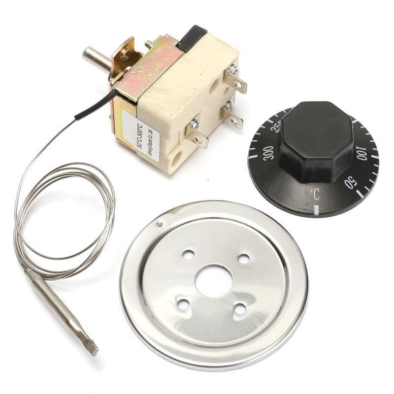 DANIU микро термостат AC 250V 16A 50 до 300 градусов Цельсия регулятор температуры нет NC для электрической печи