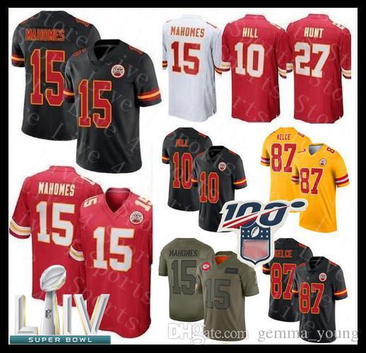 Ideal para Usar Todos los d/ías y Jugar Rugby Disponible Camiseta de Rugby para Hombre Kansas City Chiefs Classic # 15 Jersey de f/útbol Americano Patrick Mahomes