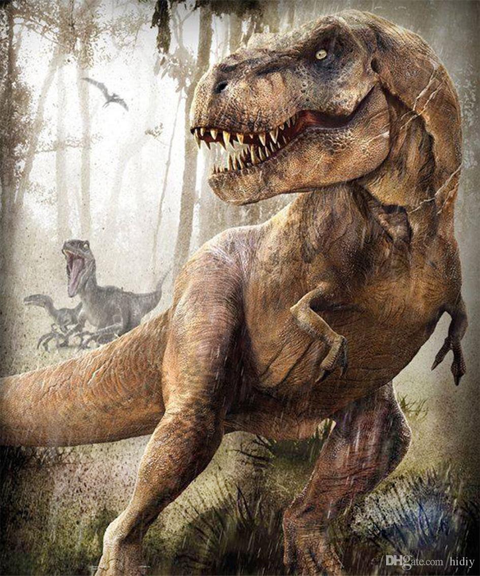 Satin Al Tam Matkap Diy 5d Elmas Boyama Tyrannosaurus Rex Klasik
