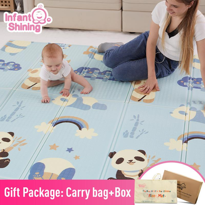 Infant Shining Baby Mat Playmat Kids Carpet Baby Play Mat 200*180*1cm Foam XPE Puzzle Game Pad for Infants Educational Soft Mat CX200615