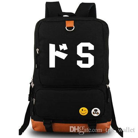 Sadism backpack S design daypack Cartoon style schoolbag Laptop rucksack Sport school bag Outdoor day pack