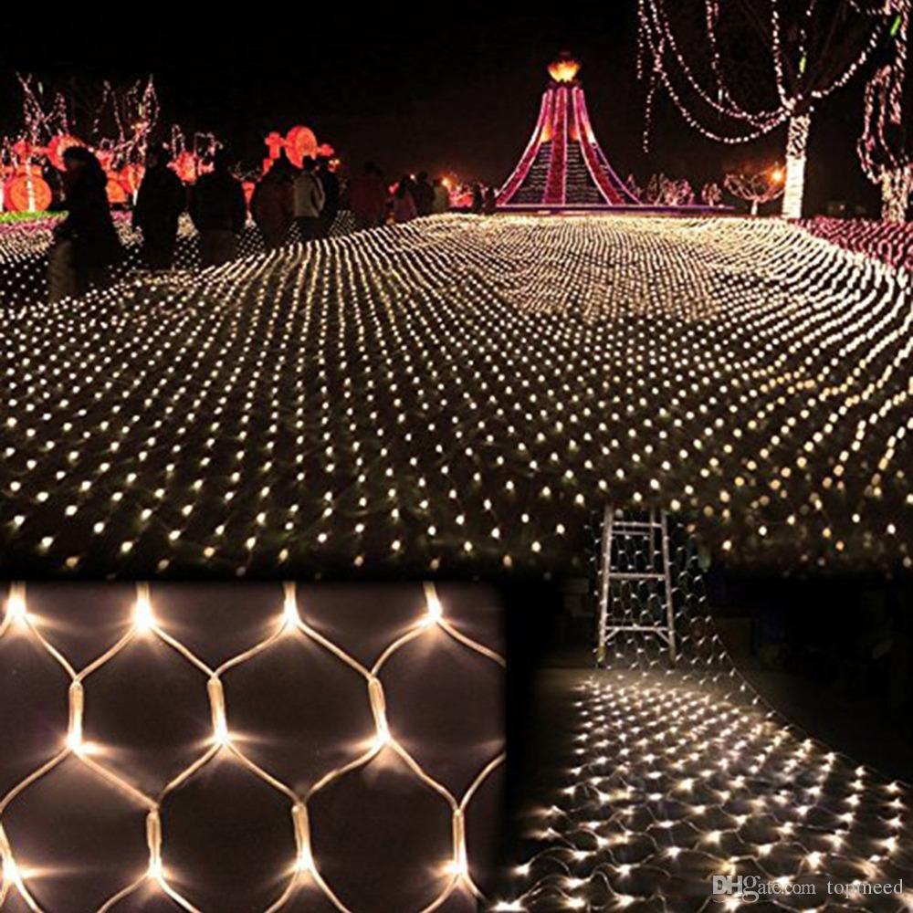 1600 luzes led 10 * 5 m luzes de cortina, cordas de iluminação led flash festa de fadas luz do partido luz de natal decoração de casamento