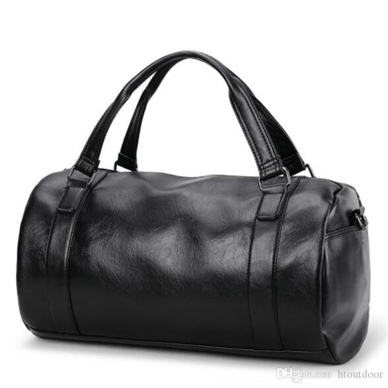 Bag Genuine Leather Travel Gym Duffel Men Overnight Luggage Vintage S Outdoor