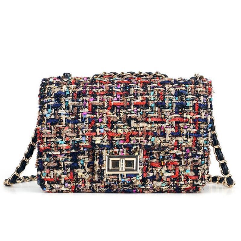 Diseñador-Especial material! 2019 Nueva lujo de las señoras bolsos de marca de moda pequeña bolsa de hombro Crossbody Bolsas para mujeres Sac Femme Principal