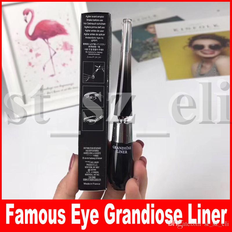 New Eye Makeup Grandiose Liner Longwear Intense Flexible Bendable Matte Finish Waterproof Liquid Eye Liner Pencil