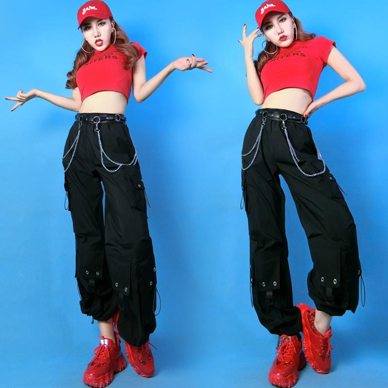 Womens Gogo Dance Costume Nightclub Bar DS DJ Stage Outfits Hip Hop Dance Costumes For Adults Performance Festival Outfit SL2762