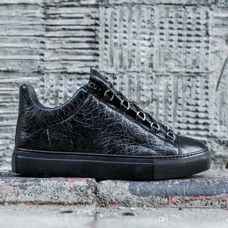 2020 Tendência Plataforma Homens Mulheres Sapatos casuais citar amantes Couro Branco Esporte Tênis amantes sapata bonita Sneaker QA9