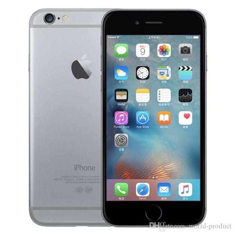 Original da Apple iPhone 6 com impressão digital 4.7 polegadas IOS 8.0 16GB / Telefones 64GB / 128GB Recuperado Desbloqueado