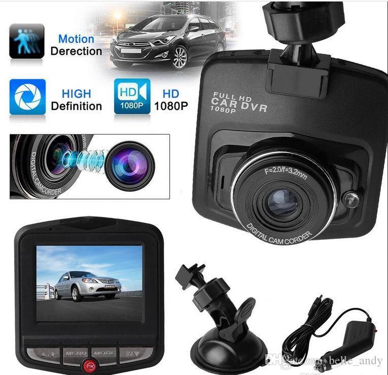 """2.4 """"سيارة ميني DVR كاميرا Dashcam HD1080P كاملة GT300 الفيديو الرؤية مسجل G الاستشعار ليلة كاميرا"""