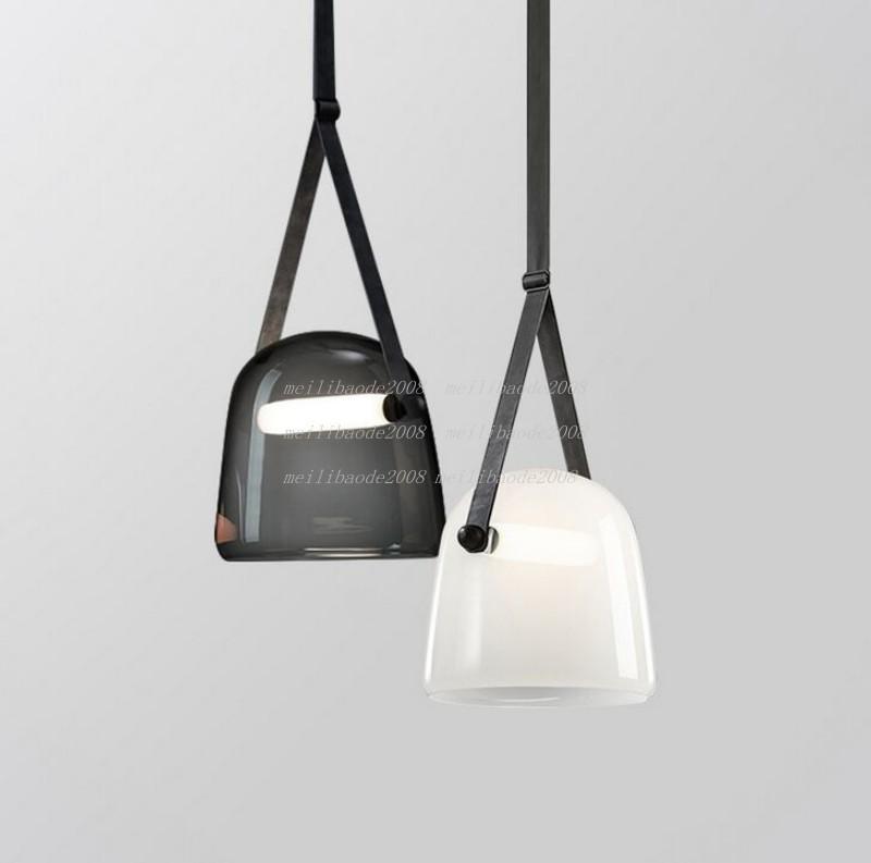 Moderne Mona Glaspendelleuchten Led Gürtel hängende Lampe für Wohnzimmer Schlafzimmer Küche Ausstattung Pendelleuchte MYY