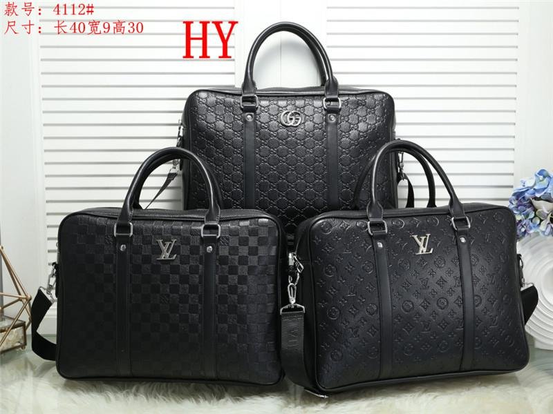High Quality Handbag Fashion Women Brand New Canvas Genuine Leather PU Lady Messenger Bag Mini Noe Bags Boston Bag 4112-2