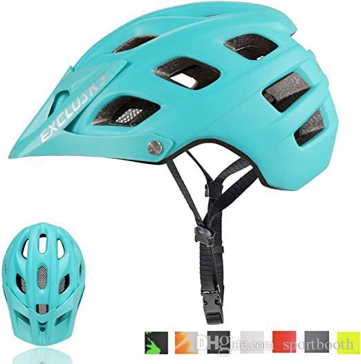 New Exclusky Mountainbike Helm MTB Fahrrad Fahrradhelme für Erwachsene Frauen und Männern CPSC Certified Outdoor Radsport Schutzausrüstung